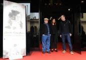 Foto/IPP/Gioia Botteghi 25/03/2014 Roma presentazione del corto CASERTA PALACE DREAM prodotto da Pasta Garofalo, nella foto: il regista James McTeigue e i protagonisti Richard Dreyfuss e Kasia Smutniak