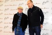 Foto/IPP/Gioia Botteghi 25/03/2014 Roma presentazione del corto CASERTA PALACE DREAM prodotto da Pasta Garofalo, nella foto: il regista James McTeigue e Richard Dreyfuss