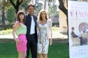 Foto/IPP/Gioia Botteghi 01/04/2014 Roma presentazione del film IL PRETORE, nella foto:   Sarah Maestri, Eliana Miglio con Giulio Base
