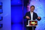 Foto/IPP/Gioia Botteghi 03/04/2014 Roma passaggio di testimone nella conduzione del programma di rai uno l'Eredità Fabrizio Frizzi prende il posto di Carlo Conti