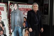 Foto/IPP/Gioia Botteghi 08/04/2014 Roma presentazione del film UN MATRIMONIO DA FAVOLA, nella foto:  E. Vanzina