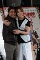 Foto/IPP/Gioia Botteghi 08/04/2014 Roma presentazione del film UN MATRIMONIO DA FAVOLA, nella foto:   Rocca  Stefania,  Emilio Solfrizzi