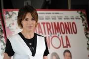 Foto/IPP/Gioia Botteghi 08/04/2014 Roma presentazione del film UN MATRIMONIO DA FAVOLA, nella foto:   Rocca  Stefania