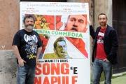 Foto/IPP/Gioia Botteghi 09/04/2014 Roma presentazione del film SONG' e NAPULE, nella foto: Marco e Antonio Manetti