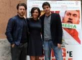 Foto/IPP/Gioia Botteghi 09/04/2014 Roma presentazione del film SONG' e NAPULE, nella foto: Alessandro Roja, Giampaolo Morelli, Serena Rossi