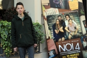 Foto/IPP/Gioia Botteghi 13/03/2014 Roma Presentazione del film Noi 4, nella foto:  FRANCESCO BRACCI TESTASECCA