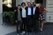 Foto/IPP/Gioia Botteghi 13/03/2014 Roma Presentazione del film Noi 4, nella foto:  il regista Francesco Bruni, FABRIZIO GIFUNI, KSENIA RAPPOPORT, LUCREZIA GUIDONE, FRANCESCO BRACCI TESTASECCA