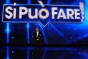 Foto/IPP/Gioia Botteghi 09/05/2014 Roma Puntata della trasmissione SI PUO FARE, nella foto Carlo Conti