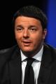 Foto/IPP/Gioia Botteghi 27/04/2014 Roma Matteo Renzi ospite di Lucia Annunziata nella trasmissione in mezz'ora, rai tre