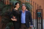 Foto/IPP/Gioia Botteghi 05/05/2014 Roma presentazione del film LA MOGLIE DEL SARTO, nella foto: Maria Grazia Cucinotta e Tony Sperandeo