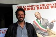 Foto/IPP/Gioia Botteghi 09/05/2014 Roma presentazione del film Pinuccio Lovero, nella foto nella foto il regista  Pippo Mezzapesa