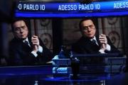Foto/IPP/Gioia Botteghi  21/05/2014 Roma Berlusconi da Vespa