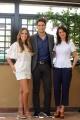 Foto/IPP/Gioia Botteghi  22/05/2014 Roma Diana Chaves, Joana Santos e Diogo Morgado  presenta la soap _Legami_ su raiuno dal 24 maggio