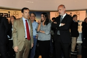 Foto/IPP/Gioia Botteghi   23/05/2014 Roma Bianca Berlinguer presenta il suo nuono tg3 con il direttore generale Gubitosi Riccardo Chartroux, Maria Cuffaro