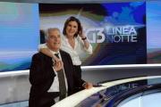 Foto/IPP/Gioia Botteghi   23/05/2014 Roma Bianca Berlinguer presenta il suo nuono tg3 con Maurizio Mannoni