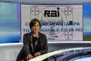 Foto/IPP/Gioia Botteghi   23/05/2014 Roma Floriana Bertelli nel nuovo tg3