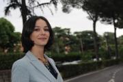 Foto/IPP/Gioia Botteghi 28/05/2014 Roma presentazione della fiction di rai uno A TESTA ALTA, nella scuola ufficiali dei carabinieri, nella foto: Nicole Grimaudo
