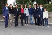 Foto/IPP/Gioia Botteghi 28/05/2014 Roma presentazione della fiction di rai uno A TESTA ALTA, nella scuola ufficiali dei carabinieri, nella foto: il cast