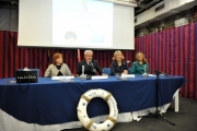 Foto/IPP/Gioia Botteghi 29/05/2014 Roma Presentazione del programma di RaiUno Linea Blu. Con Donatella Bianchi, Fabio Gallo, Rosaria Rumbo, Ammiraglio Filippo Maria Foffi, Annalisa Zavattini