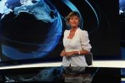 Foto/IPP/Gioia Botteghi     06/06/2014 Roma  il nuovo studio  digitale del tg1 , nella foto: Valentina Bisti