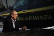 Foto/IPP/Gioia Botteghi 15/06/2014 Roma il ministro delle finanze Padoan  ospite di Lucia Annunziata