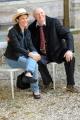 Foto/IPP/Gioia Botteghi   18/06/2014 Roma  Letterature_ festival internazionale di Roma XIII edizione, nella foto: Silvia Ballestra con Dario Fò