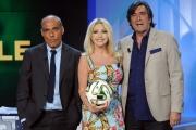 Foto/IPP/Gioia Botteghi   19/06/2014 Roma   Carlo Paris Paola Ferrari e Marco Civoli conducono Diario Mondiale