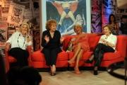 Foto/IPP/Gioia Botteghi   24/06/2014 Roma   una puntata di Stracult raitre ospite Nicoletta Orsomando, Rosanna vaudetti, Mariolina Cannuli, Gabriella Farinon