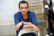 Foto/IPP/Gioia Botteghi   30/06/2014 Roma  Festival delle Letterature, Jerome Ferrari uno dei 5 finalisti del premio Strega