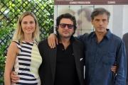 Foto/IPP/Gioia Botteghi   07/07/2014 Roma   Presentazione del film LA MADRE, nella foto: Stefano Dionisi, Laura Baldi e il regista Angelo Maresca