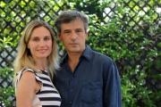 Foto/IPP/Gioia Botteghi   07/07/2014 Roma   Presentazione del film LA MADRE, nella foto: Stefano Dionisi, Laura Baldi