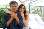 Foto/IPP/Gioia Botteghi   07/07/2014 Roma   Presentazione del film LA MADRE, nella foto: Stefano Dionisi,  la produttrice Flavia Parnasi