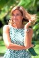 Foto/IPP/Gioia Botteghi 31/07/2014 Roma  Spot televisivo di rai uno con Cristina Parodi che condurrà la vita in diretta