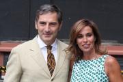 Foto/IPP/Gioia Botteghi 31/07/2014 Roma  Spot televisivo di rai uno con Cristina Parodi e Marco Liorni che condurranno la vita in diretta