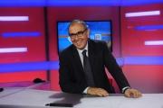 Foto/IPP/Gioia Botteghi 31/07/2014 Roma  Il nuovo studio del tgr lazio digitale, nella foto il direttore del tgr Vincenzo Morgante