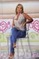 Foto/IPP/Gioia Botteghi 08/09/2014 Roma prima puntata dela nuova trasmissione di Antonella Clerici DOLCI DOPO IL TG ospite Monica Leofreddi