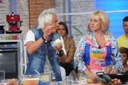Foto/IPP/Gioia Botteghi 08/09/2014 Roma prima puntata de La prova del cuoco, nella foto Antonella Clerici ed il cuoco Andrea Mainardi
