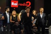 Foto/IPP/Gioia Botteghi 11/09/2014 Roma trasmissione radiofonica STAISERENA nella foto: Serena Dandini ed i collaboratori