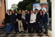 Foto/IPP/Gioia Botteghi 11/09/2014 Roma presentazione del film LA NOSTRA TERRA, nella foto: il regista Giulio Manfredonia con il cast