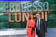 Foto/IPP/Gioia Botteghi 15/09/2014 Roma IL PROCESSO DEL LUNEDI, nella foto: Giovanna Carollo Enrico Varriale