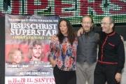 Foto/IPP/Gioia Botteghi 17/09/2014 Roma Jesus Christ Superstar con la reunion , al sistina nella foto: Ted Neeley, Yvonne Elliman e Barry Dennen
