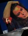 Foto/IPP/Gioia Botteghi 21/09/2014 Romail Lucia Annunziata ospita Sabina Guzzanti nella trasmissione in mezz'ora su raitre