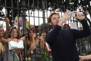 Foto/IPP/Gioia Botteghi 22/09/2014 Roma presentazione del film POSH, nella foto: Sam Claflin