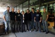 Foto/IPP/Gioia Botteghi       26/09/2014 Roma presentazione della nuova serie di GAZEBO, nella foto Diego Bianche in arte Zoro e quasi tutta la redazione