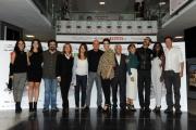 Foto/IPP/Gioia Botteghi 27/10/2014 Roma presentazione del film Confusi e felici, nella foto: il cast con i produttori Lucisano