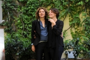Foto/IPP/Gioia Botteghi 29/04/2013 Roma presentazione del film Miele nella foto Jasmine Trinca e Valeria Golino