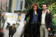 Foto/IPP/Gioia Botteghi 29/04/2013 Roma presentazione del film Miele nella foto  Vinicio Marchioni e Valeria Golino