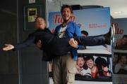 Foto/IPP/Gioia Botteghi  02/10/2014 Roma presentazione del film TUTTO MOLTO BELLO, nella foto:  Paolo Ruffini e Pupo