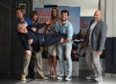 Foto/IPP/Gioia Botteghi  02/10/2014 Roma presentazione del film TUTTO MOLTO BELLO, nella foto: Chiara Francini, Nina Senicar, Pupo, Paolo Ruffini, Scintilla, Frank Matano