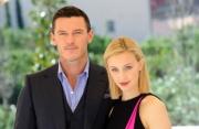Foto/IPP/Gioia Botteghi   03/10/2014 Roma presentazione del film Dracula UNTOLD, nella foto:  LUKE EVANS e SARAH GADON